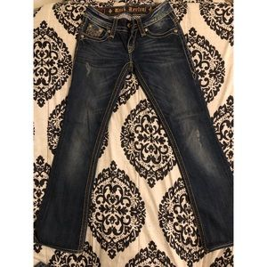 Gently used Rock Revival jeans ,